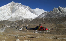 Day Tour of Everest Base Camp in Helicopter