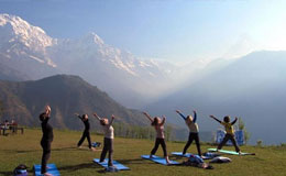 Yoga and meditation in Nepal tour in Nepal